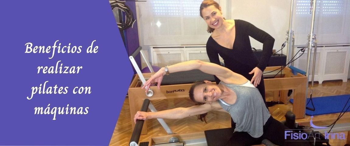 Beneficios pilates con máquinas